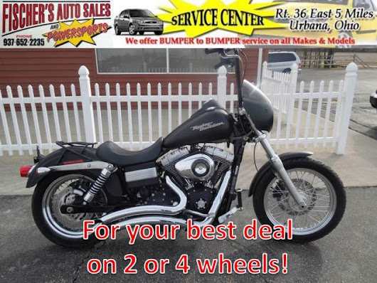 Used 2008 Harley-Davidson FXDB for Sale in Urbana OH 43078 Fischer's Auto Sales & Powersports