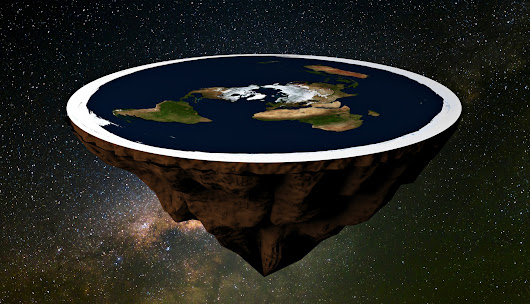 Conspiracy theorist: You can't fall off flat Earth edge due to 'Pac-Man effect' - SFGate
