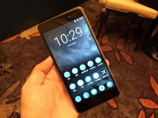 Check out the first hands-on video with the Nokia 6