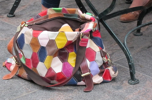 Quilted bag by Anna Amnell