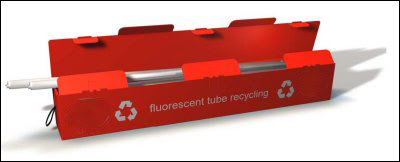 Ecolamp Fluorescent Tube And Waste Lamp Collection Disposal