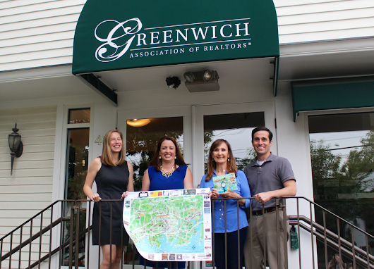 Longtime Residents Publish Illustrated Map Highlighting Local Independent Greenwich Businesses