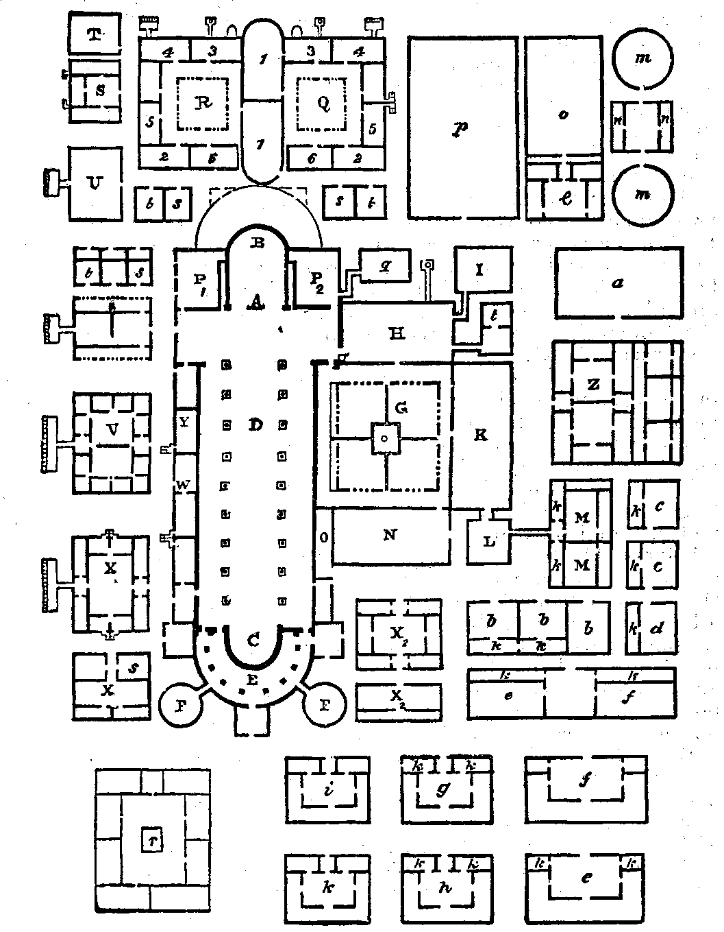 St.Galler Klosterplan