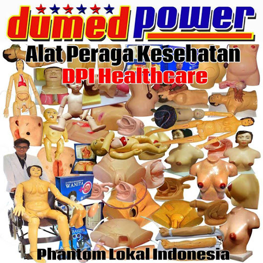 ALMED - ALKES - ALPER | Manekin Phantom Lokal Indonesia