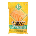 BiC Sensitive Disposable Razors, 1 Blade, 12 Ct