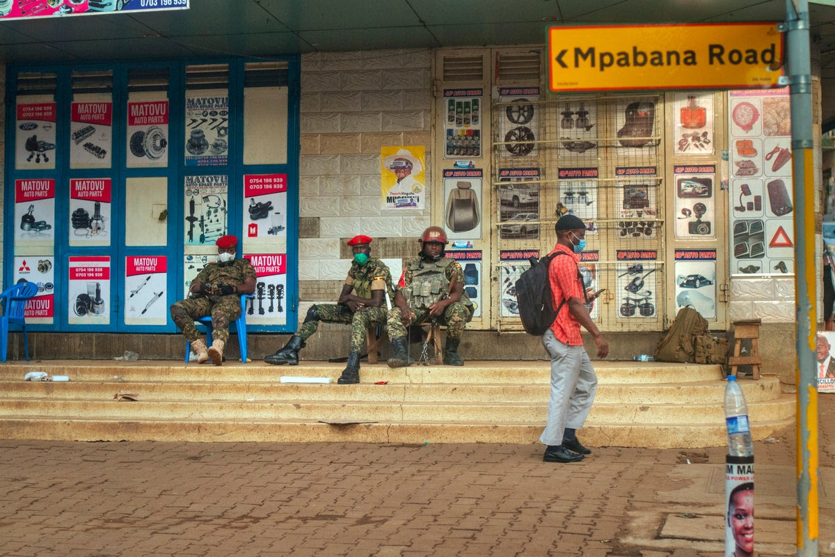 'Not worth my life': Ugandans vote in tense election