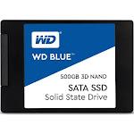 """WD Blue 3D NAND SATA 500 GB Internal SSD - 2.5"""" - WDS500G2B0A - SATA 6Gb/s"""
