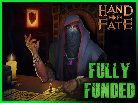 Hand of Fate, a card game that comes to life