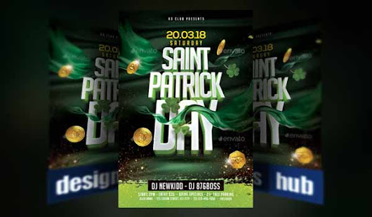 15 Irish-Themed St Patrick's Day Flyer Poster Templates