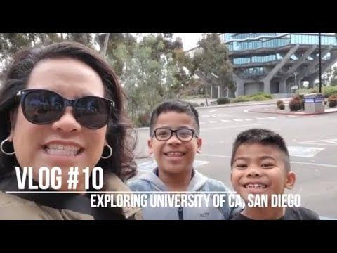 Vlog #10 - College Life for a Seven Year Old