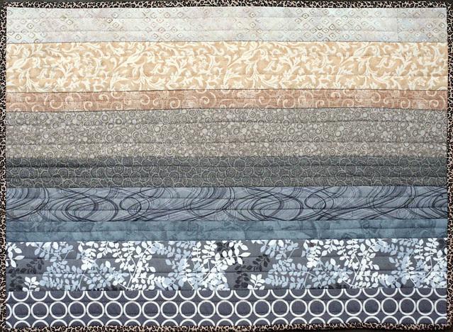 Kaesea's quilt: Gradient side