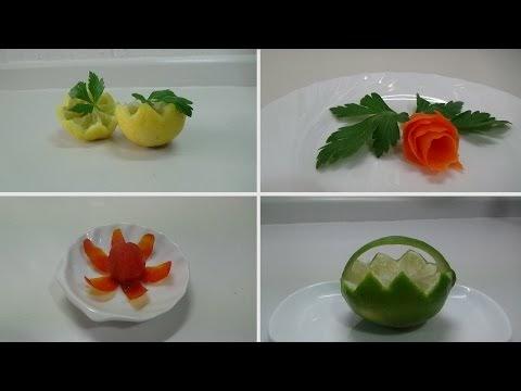 Hispacocina decoraciones de platos de canap s - Decoracion de canapes ...