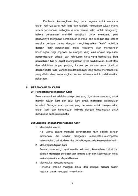 Manajemen karir makalah (Psikologi Sumber Daya Manusia