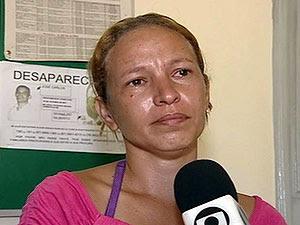 Denise Carla Souza, esposa de José Carlos (Foto: Reprodução/TV Globo)
