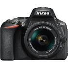 Nikon D5600 24.2 MP SLR - Black - AF-P DX 18-55mm VR Lens