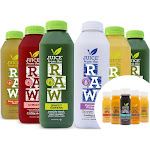 3-Day Juice Cleanse + Shots by Juice From the RAW - Popular Cleanse / 100%RAW & Cold-Pressed Juices / Non-GMO / No Sugar Added (18 Bottles + 10 Shots)
