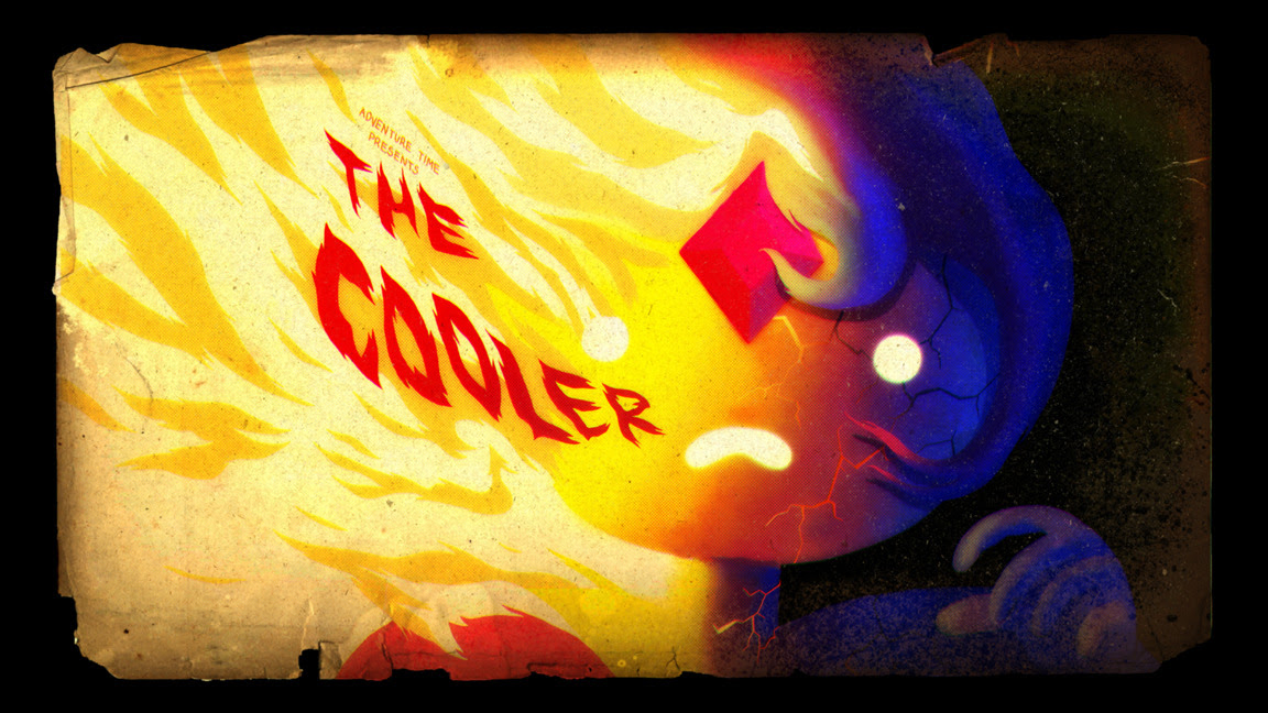 The Cooler - title card designed by Michael DeForge, painted by Nick Jennings
