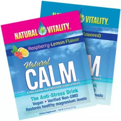 "Natural Vitality ""Calm"" Magnesium Citrate Powder Free Sample – US"