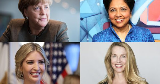 Inspirational Women: The Forbes List of Powerful Women - The Active Habitat
