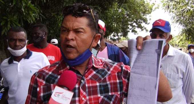 AGRICULTORES SANJUANEROS DENUNCIAN SUPUESTA MAFIA EN ENTREGA DE SEMILLAS DE HABICHUELAS