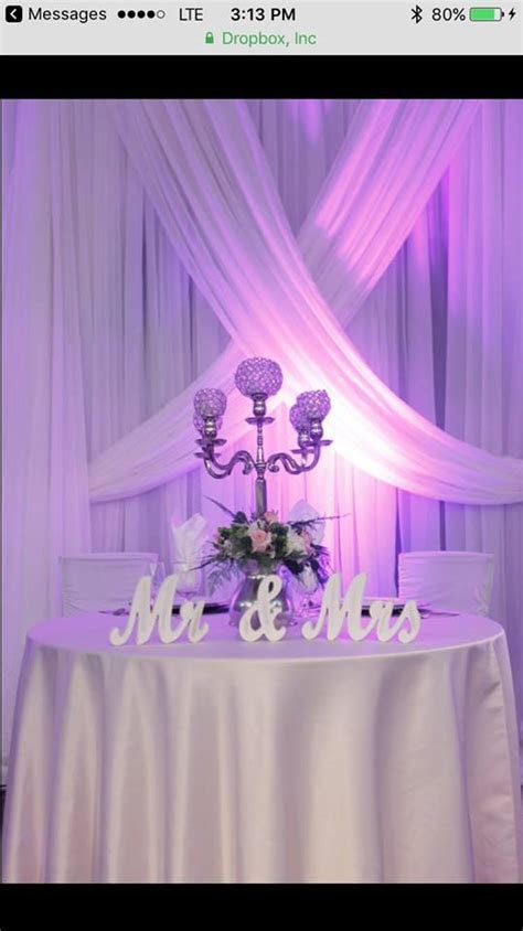 Criss Cross Draping   Party Rentals, Corporate Events