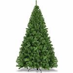Costway PVC Artificial Christmas Tree Premium Hinged-7.5'
