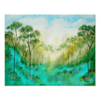 Serenity Canvas Print From Original Painting print