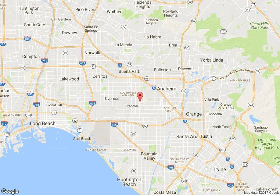 Cris Pacific Apartments Stanton CA map 01_ml
