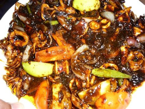 resepi squid sotong images  pinterest