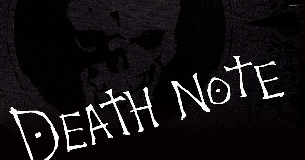 13++ Anime Wallpaper 4k Death Note - Orochi Wallpaper