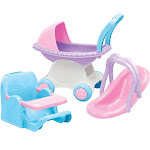 American Plastic Toys - Doll Play Set