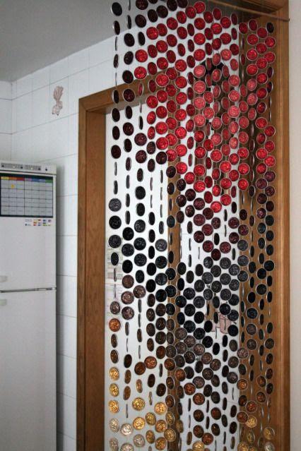 Cortinas hechas de materiales reciclables - Anillas de cortinas ...