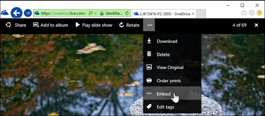 OneDrive again allows sourcing of images