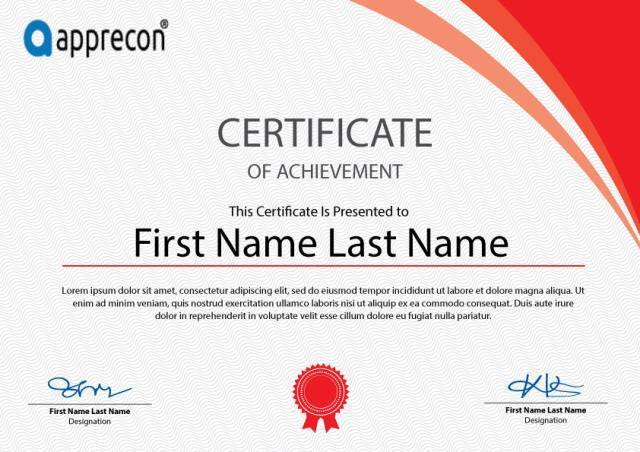 Certificate Template Free Certificate Powerpoint