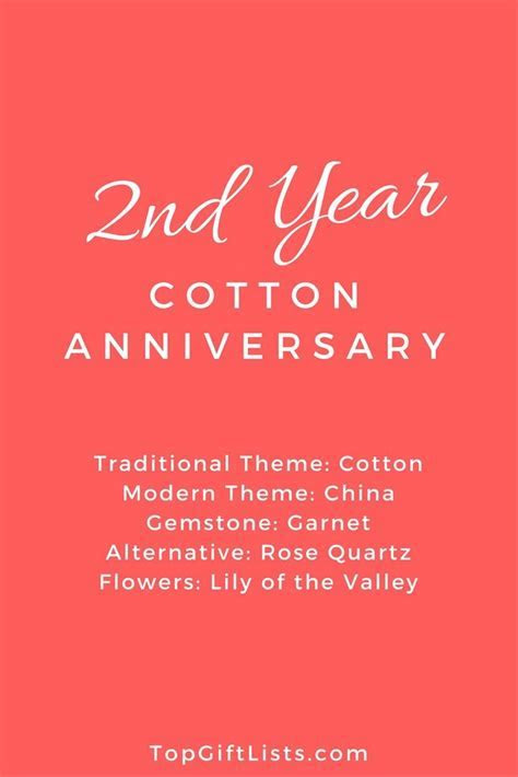 2nd Year of Marriage Anniversary Themes, Flowers and Gift