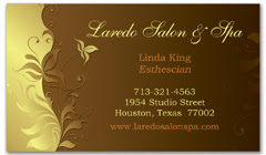 BCS-1018 - salon business card