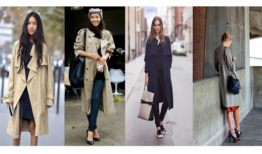 Spring Showers bring ...Trench Coats for Work