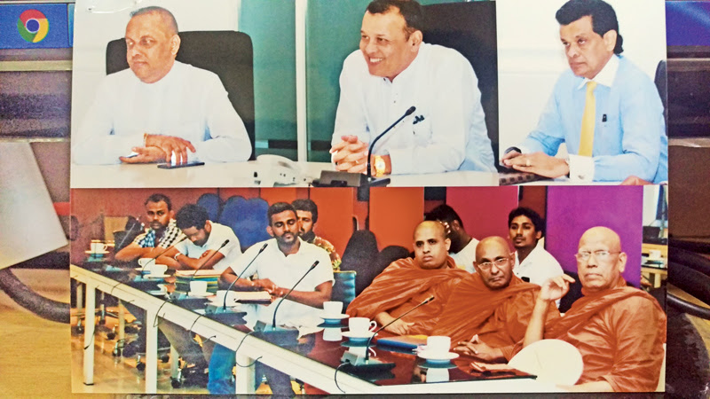 Maha Sangha, Ministers, workers get together to resolve issues