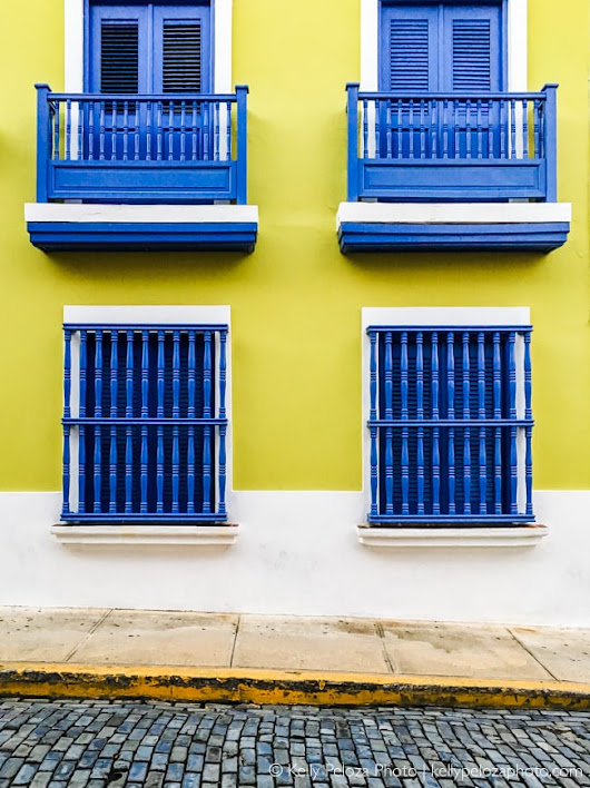 Architecture in Old San Juan - Kelly Peloza Photo