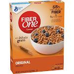 Fiber One Cereal, Bran, Original - 16.2 oz