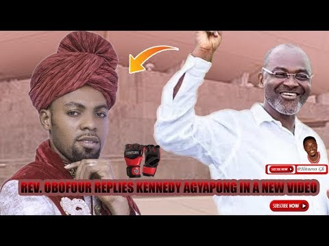 NEW FIGHT ALERT: Rev. Obofour replies Kennedy Agyapong