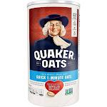 Quaker, 100% Natural Whole Grain Oatmeal - 18 Oz - Case Of 12