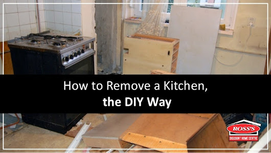 How to Remove a Kitchen, the DIY Way