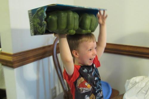 hulk gloves!