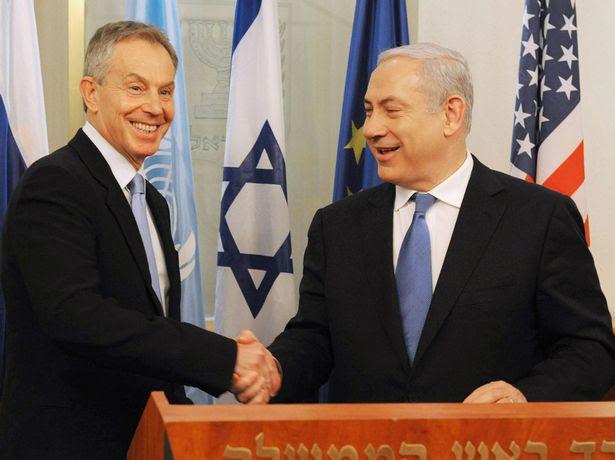 Image result for tony blair netanyahu
