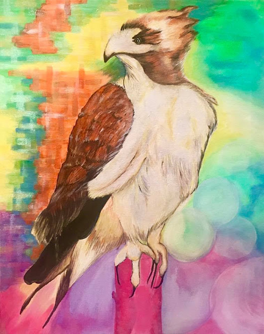 Art Stories: Prophetic Reflections (Hawk)
