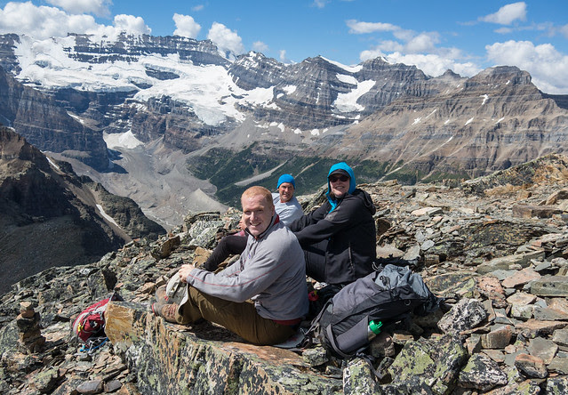 Lunch on the summit