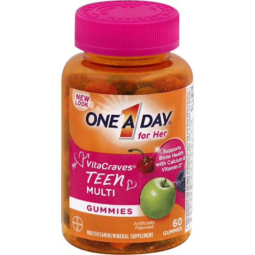 One A Day For Her VitaCraves Multi, Teen, Gummies - 60 gummies
