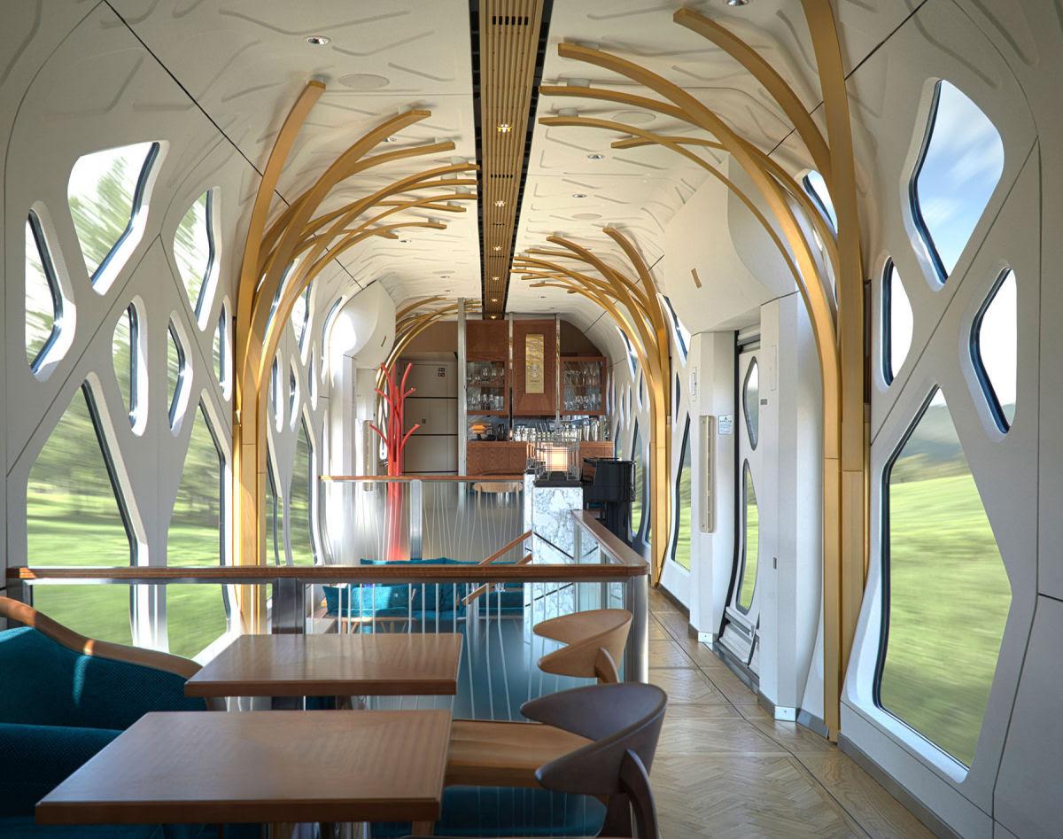 O interior do Shiki-shima: o trem mais luxuoso do mundo que atravessa o Japão 10