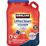 Kirkland Signature Ultra Clean Laundry Detergent Pacs - 152 count